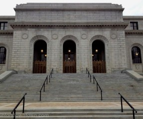 Grand stairs main entrance